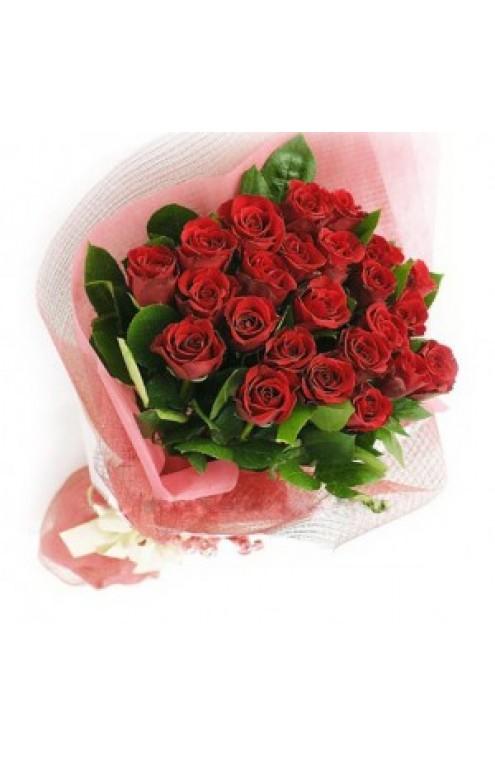 Ramo de 24 Rosas Rojas #2614