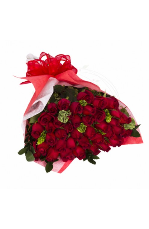 Ramo de 50 Rosas Rojas # 1817