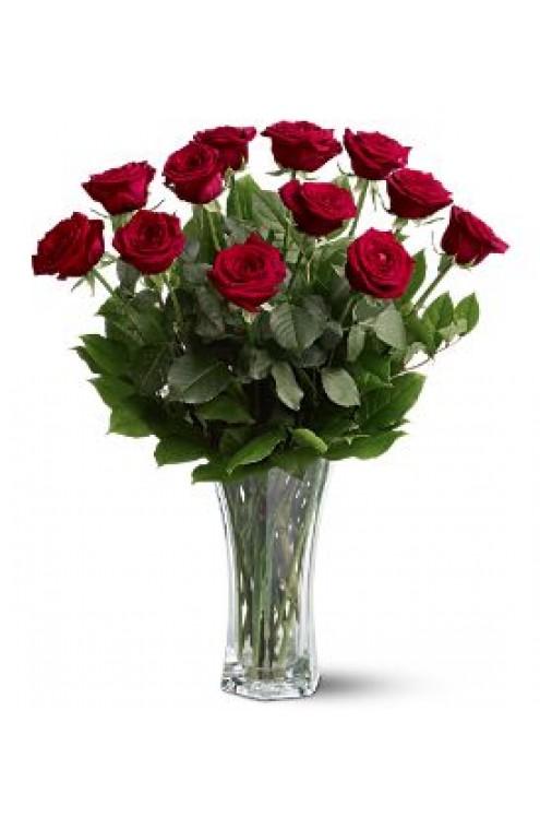 Arreglo Floral de Rosas Rojas #100