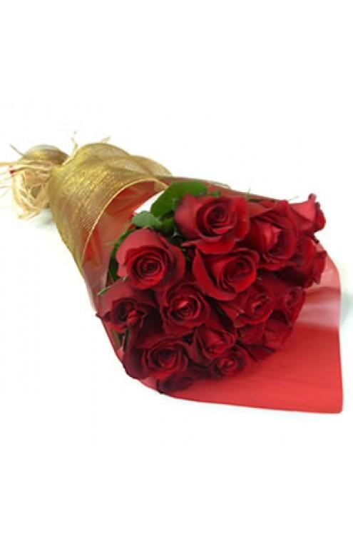 Ramo de 12 Rosas Rojas #2612