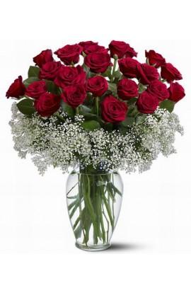 2 Docenas de Rosas en Cristal # 103